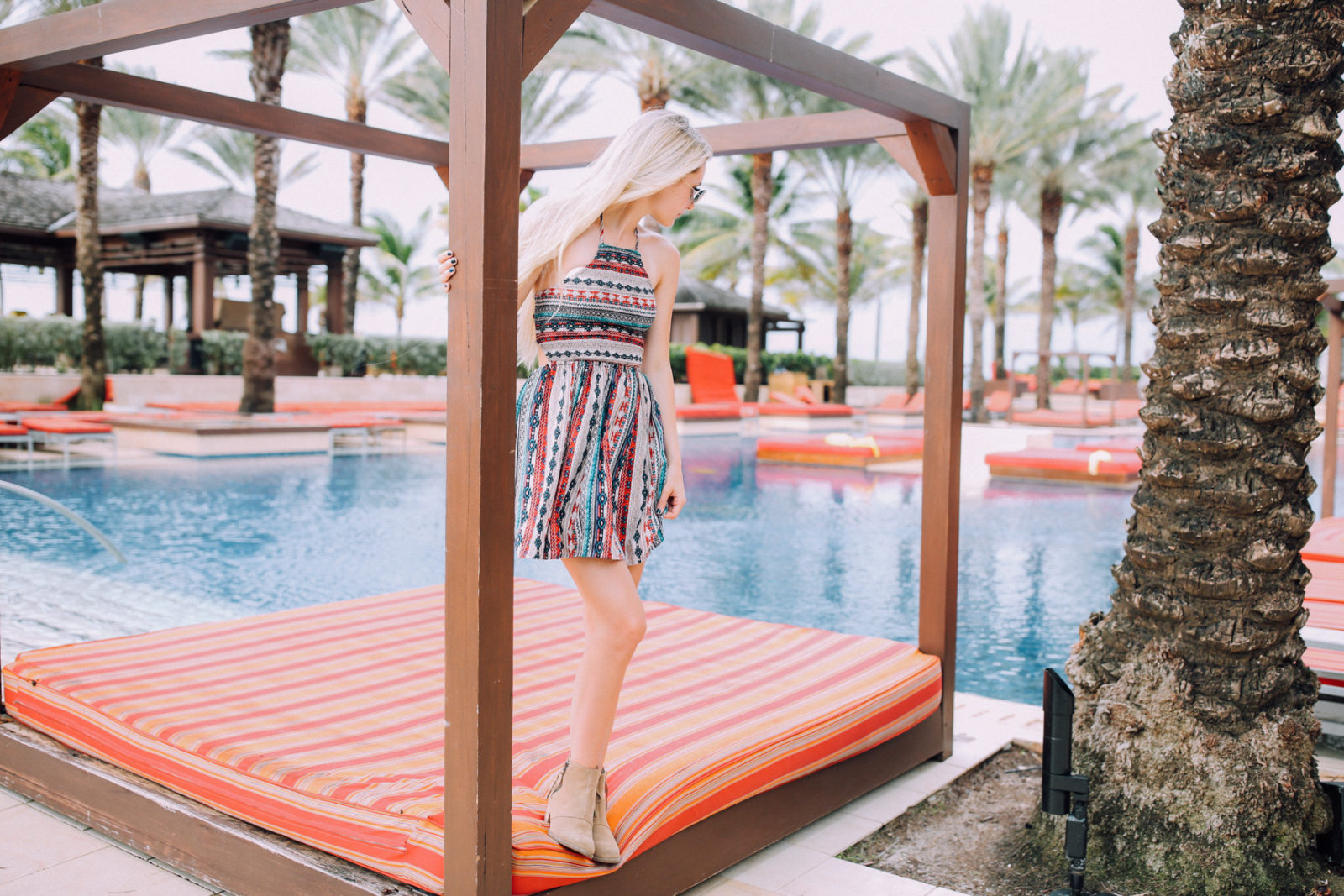 bahamas vacation summer trip aspyn ovard outfit ideas dresses lulus maxi dress printed_-12