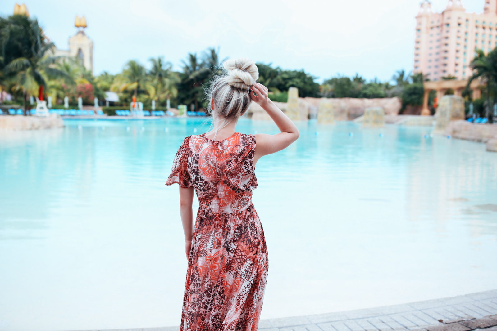 bahamas vacation summer trip aspyn ovard outfit ideas dresses lulus maxi dress printed_-20