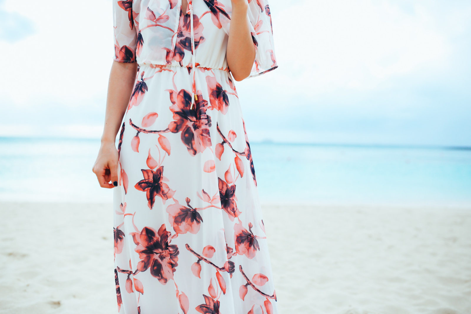 bahamas vacation summer trip aspyn ovard outfit ideas dresses lulus maxi dress printed_-3
