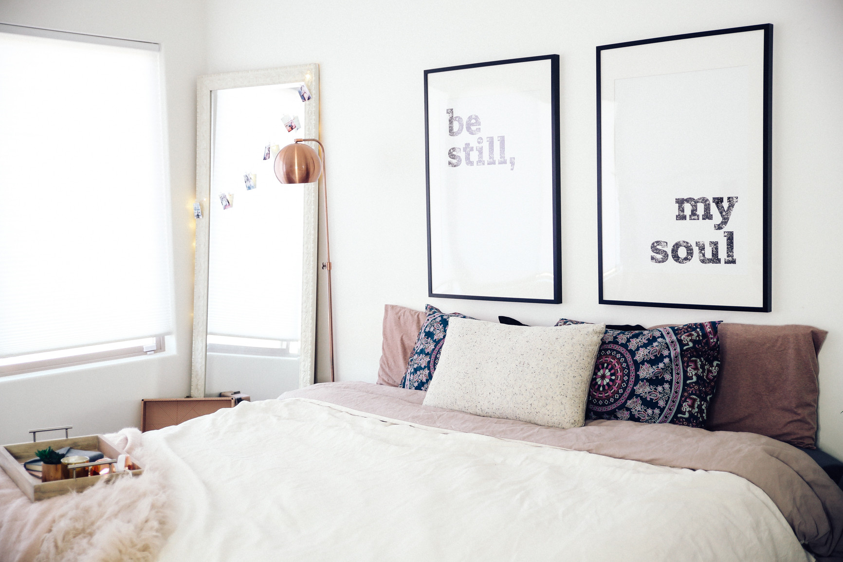 New winter room makeover ft urban outfitters for Winter bedroom